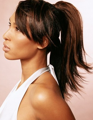 High Sleek Ponytails Hairstyles