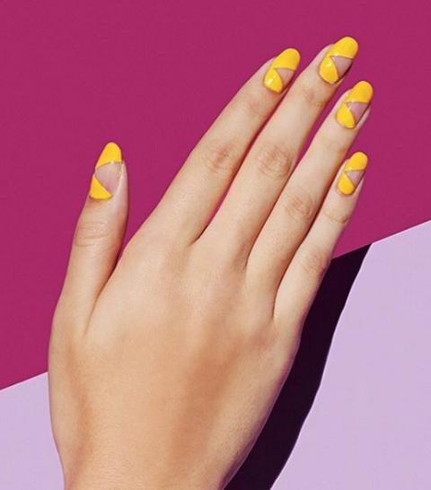 Latest Best New Easy Sunny Days Nail Art Designs