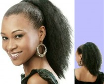 Cute Ponytails for Short African American Hair