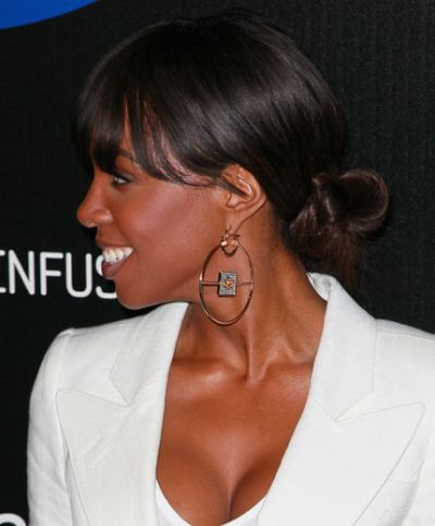 Kelly Rowland Back Do Ponytail Haircut