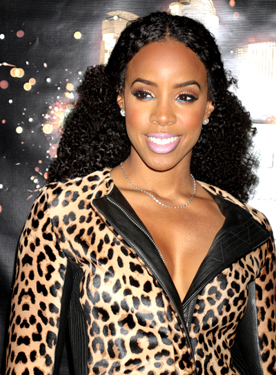 Kelly Rowland Curly Hair for African American Women