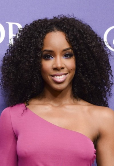 Kelly Rowland Natural African American Curly Hair