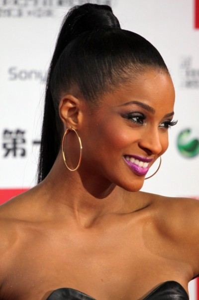 Kelly Rowland High Ponytail Style
