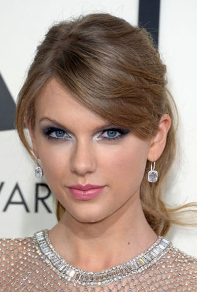 Taylor Swift's Chic Messy Ponytail Hairstyle