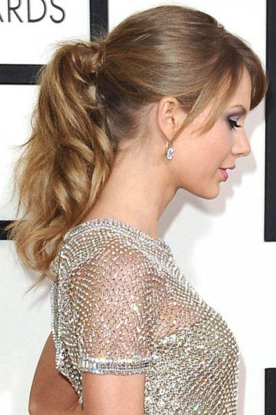 Taylor Swift Long Ponytail Blonde Hair