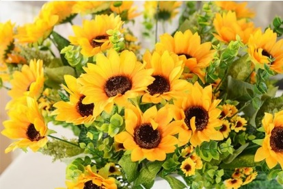 Sunflowers Artificial Flowers for Weddings