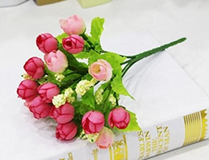Hot 15Pc Artificial Flower Silk Flower Arrangement Wedding