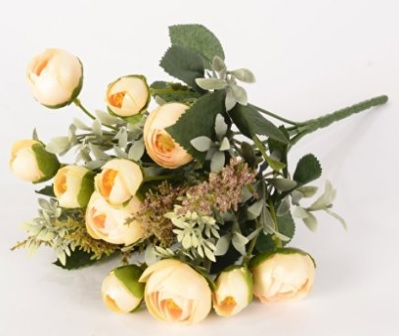 Rose Silk Flower Arrangement Ideas
