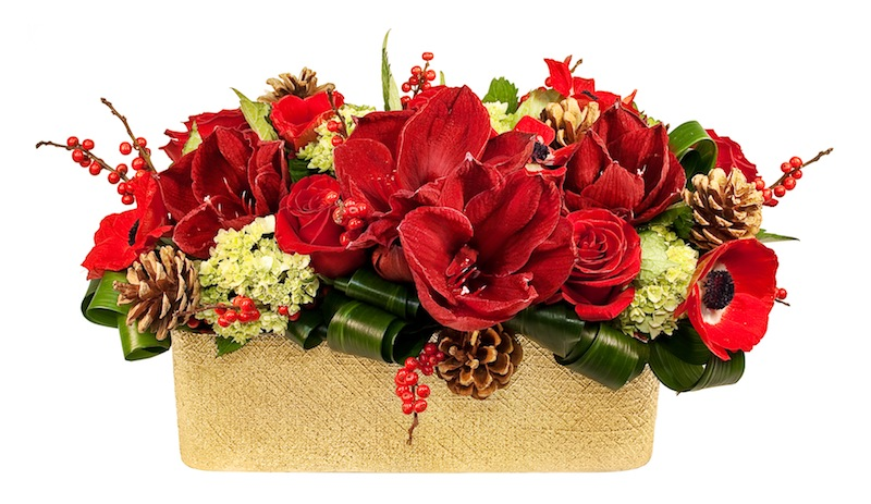 Holiday Silk Floral Arrangements