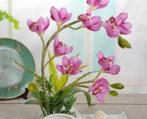 Decorative Flowers Artificial Bonsai with Ceramic Dish for Home Décor – Silk Stuff