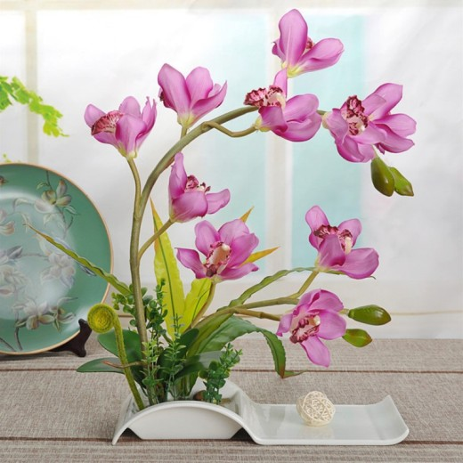 how to decorate home with artificial flowers images ideas