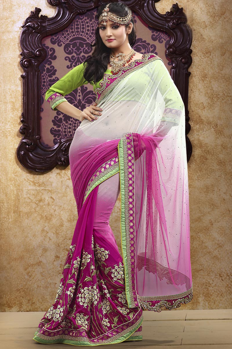 Beautiful & Elegant Party Wear Indian Saree