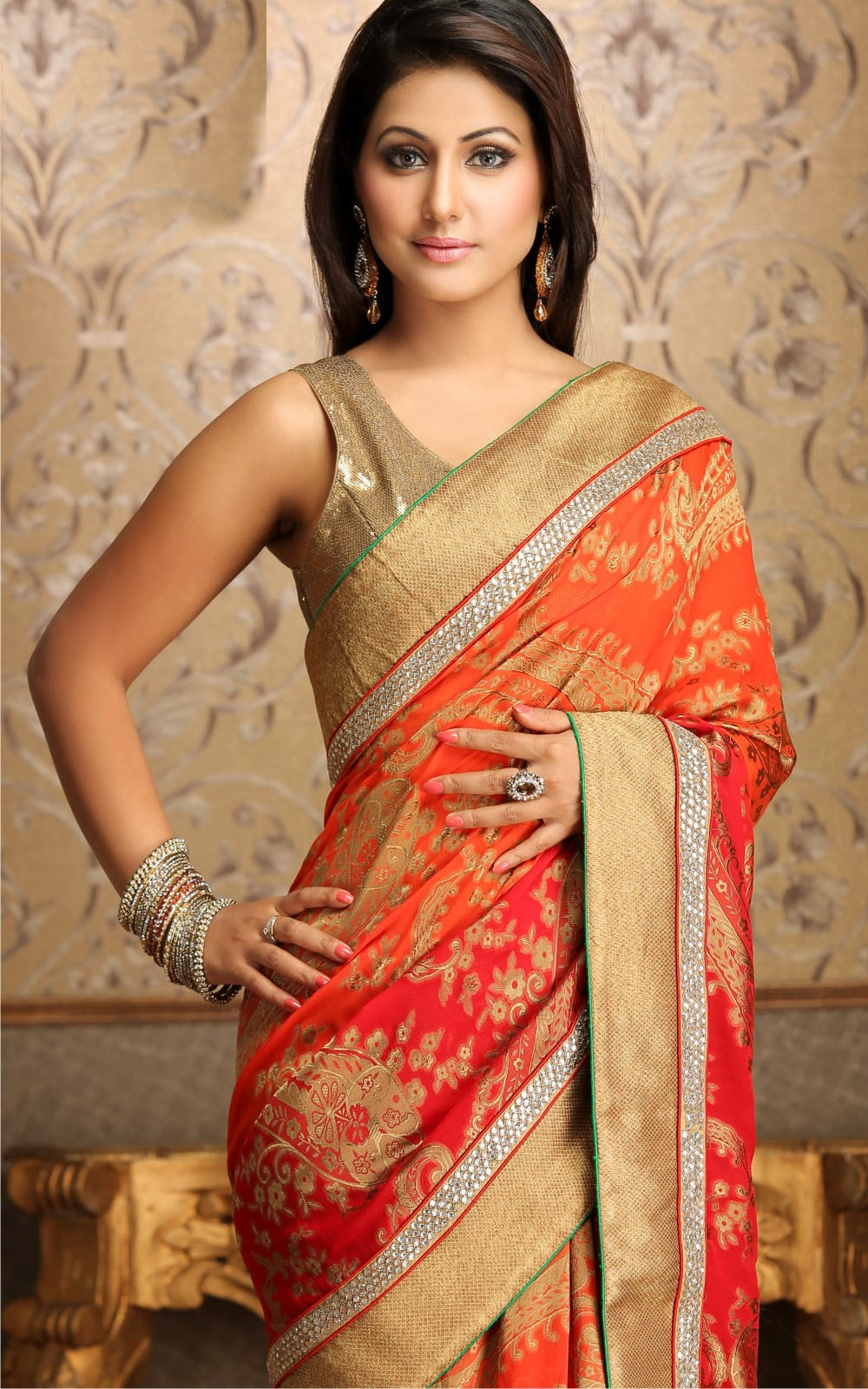 Beautiful Design Akshara Saree Collection