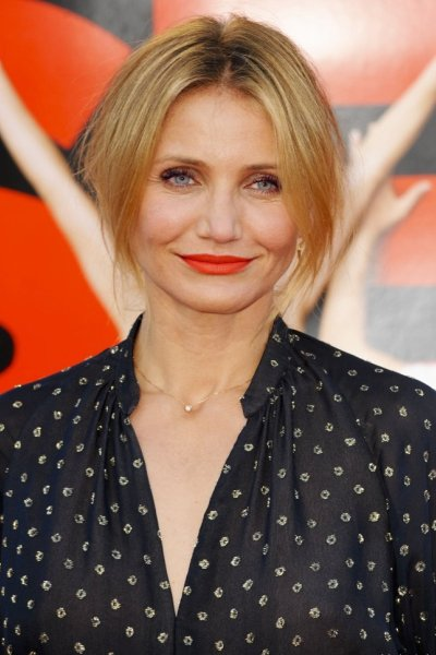 Cameron Diaz's Best Haircut for Long Necks and Round Faces