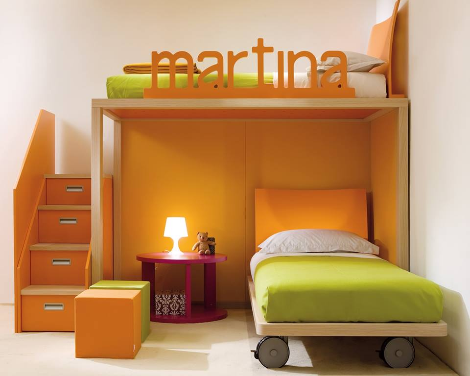 Beautiful Child's Bedroom Sleeping Bed Pictures