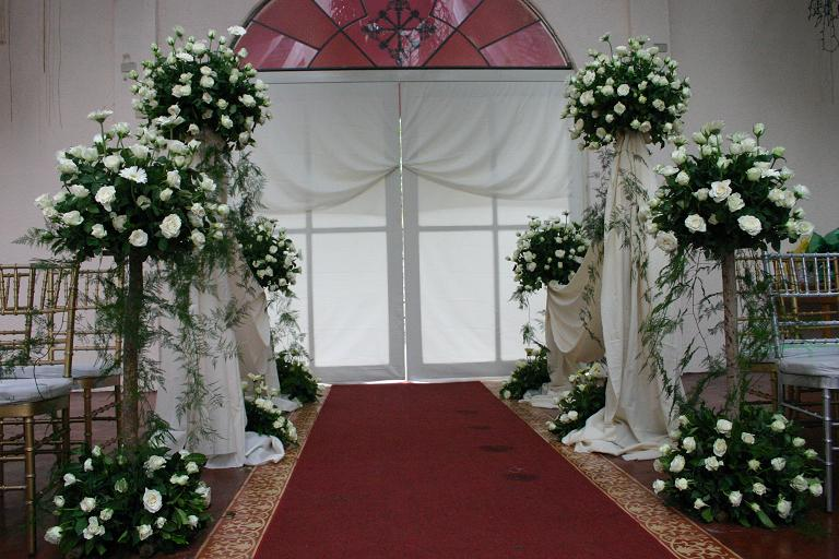 Church Wedding Flower Arrangements Pictures