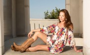 How to Wear Cowboy Boots with Dresses or Skirts