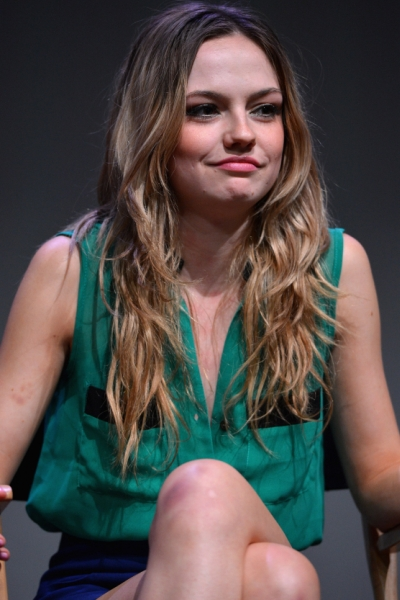 Emily Meade Fringe Long Blonde Hairstyles