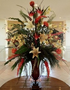 Simply Stylish Faux Flowers Arrangements