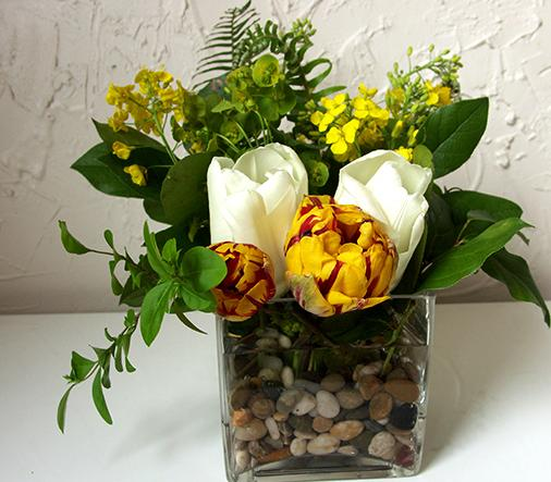 Stone Filler Flower Arrangements