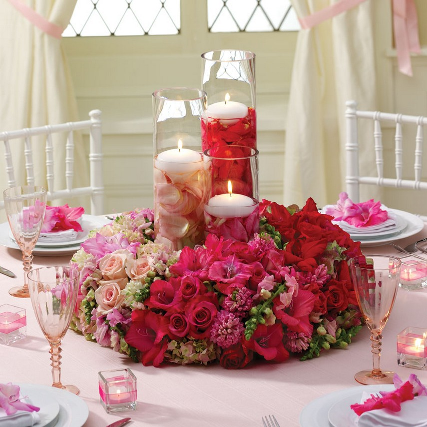 Artificial Flowers Wedding Centerpieces