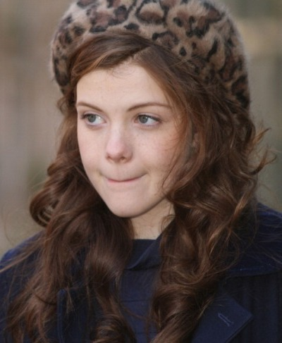 Georgie Henley Casual Hair Color Picture