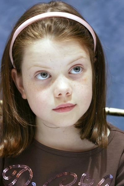 Georgie Henley Wears Gorgeous Hair Color in Her Childhood
