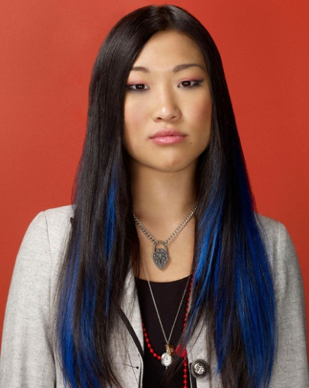 Jenna Ushkowitz's Haircuts for Long Necks and Round Faces