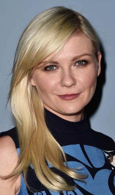 Kirsten Dunst's Best Haircut for Long Necks and Round Faces