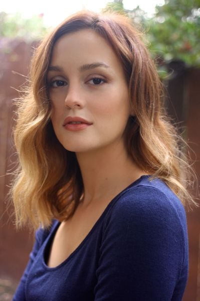 Leighton Meester Romantic Hair Color