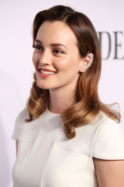 Leighton Meester Ombre Highlights