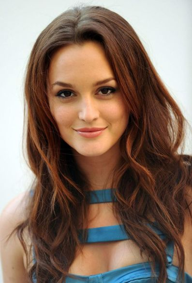 Leighton Meester Brown Brunette Hair Color