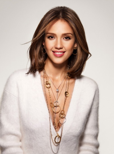 Jessica Alba Piaget Possession Pendants and Necklaces