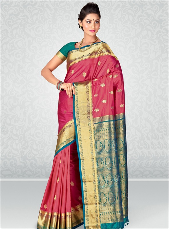 Top 10 South Indian Wedding Sarees Collection