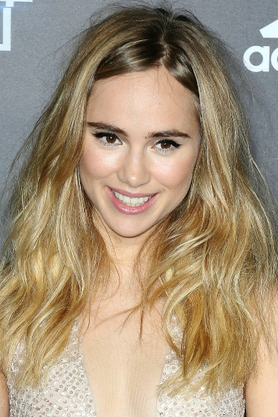 Suki Waterhouse Natural Flaxen Hair Colour