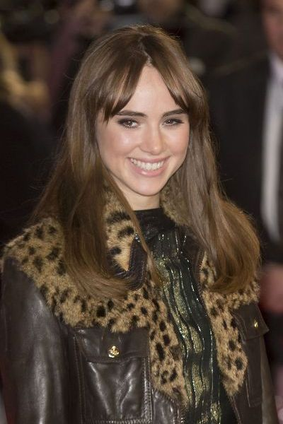 Suki Waterhouse Lowlight Blonde Fringes Haircut