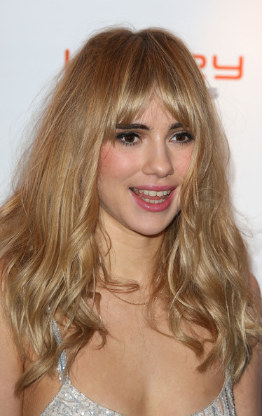 Suki Waterhouse Thick Hair Front Blonde Bangs