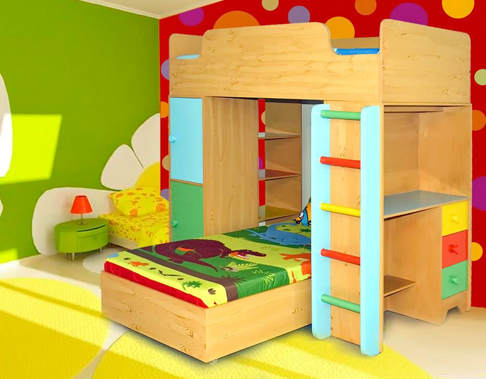 Beautiful Child's Bedroom and Sleeping Bed Pictures