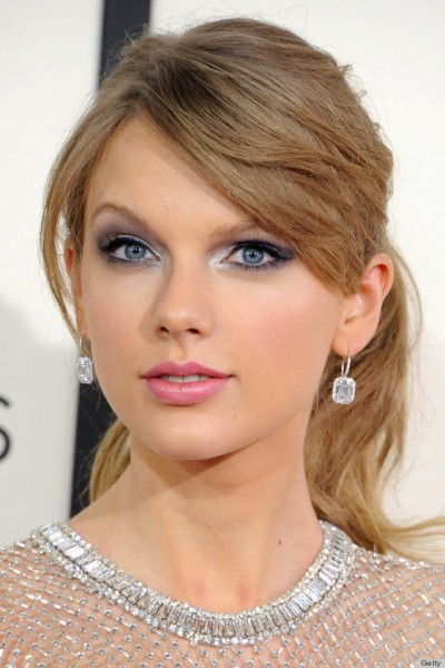 Side Swept Bangs Long Ponytail Hair by Taylor Swift
