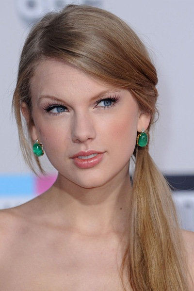 Finest Picture of Taylor Swift Long Ponytail Hairstyle