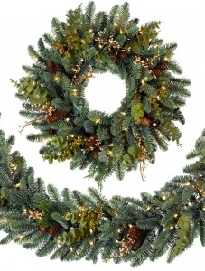 Best & Realistic Artificial Christmas Garland Picture 1