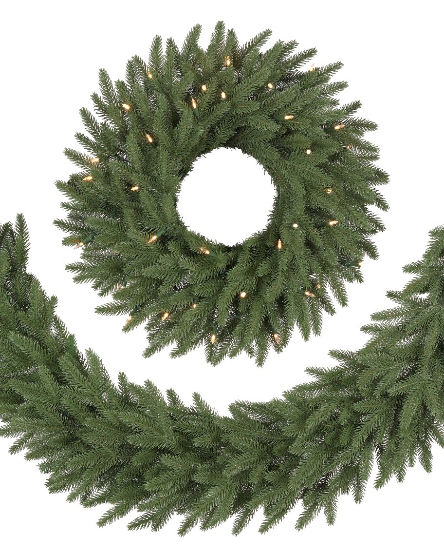 Best & Realistic Artificial Christmas Garland Picture 2