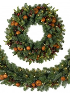 Best & Realistic Artificial Christmas Garland Picture 3