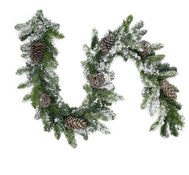 Best & Realistic Artificial Christmas Garland Picture 5