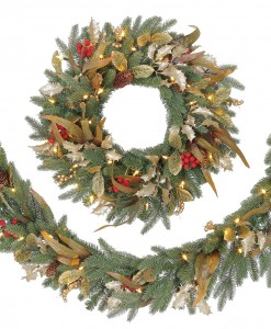 Best & Realistic Artificial Christmas Garland Picture 9