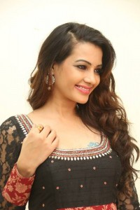 Deeksha Panth's Hot Pic 4 Wearing Indian Backless Saree