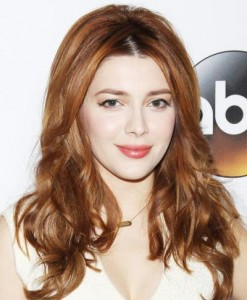 Elena Satine's Beautiful Blonde Hair Colour