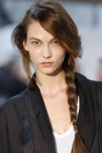 Karlie Kloss Braids Hairstyle 2017