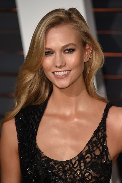 Karlie Kloss Victorias Secret Hairstyle