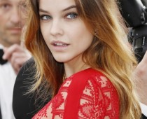 Barbara Palvin's Long Bangs